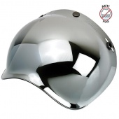 Визор Biltwell Bubble зеркальный Chrome mirror anti-fog 2001-221, BS-CHR-AF-SD, 0131-0115, 559475 2001-221 Biltwell Inc.