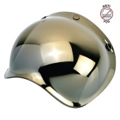 Визор Biltwell золотой хром - Bubble Shield Anti-Fog - Gold Mirror - 2001-222, 0131-0114, 559477 2001-222 Biltwell Inc.